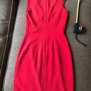 bebe Dresses - Sexy Bebe dress red v-neck size 00